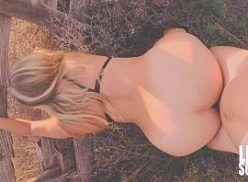 Novinha fodendo com o primo no rancho